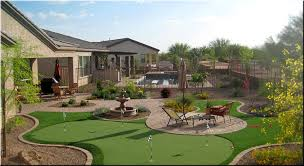 Small Backyard Putting Green Backyard Putting Green Designs Backyard And Yard Design For Village