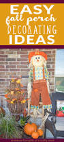 easy fall porch decorating ideas scattered thoughts of a crafty