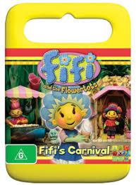 fifi flowertots fifi u0027s carnival dvds
