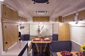 Camper Trailer Interior Ideas Fun With Fiberglass Www Trailerlife Com