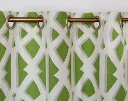 Green Grommet Curtains Jojo Designs Navy Blue And Lime Green Stripe Curtain Panels Set Of