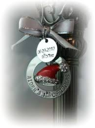 personalized baby boy ornament sted stainless