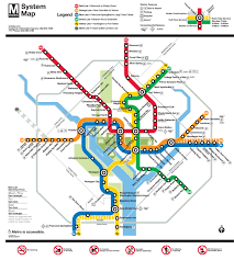 Austin Metro Rail Map by Wmata Unveils A New And Improved Metro Map