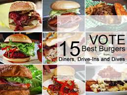 15 best burgers from diners drive ins and dives diners drive