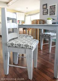 Recovering Dining Room Chair Cushions How To Reupholster A Chair Seat The No Mess Method The Thinking