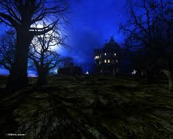 scary halloween screensavers haunted house wallpaper wallpapers browse