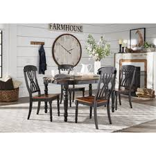 Black Dining Room Sets Shop The Best Deals For Sep - Black kitchen table and chairs