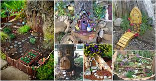 tree stump fairy gardens that will bring magic to your life