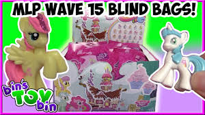 My Little Pony Blind Bag Wave 1 My Little Pony Wave 15 Blind Bags Full Case Opening Pt 1 Bin U0027s