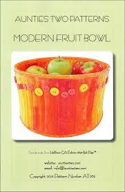 modern fruit bowl aunties two modern fruit bowl pattern createforless