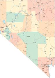 map of nevada nevada nv travel around usa