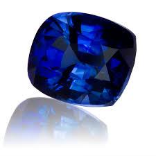 royal blue ceylon royal blue sapphire cushion 2 33ct king gems