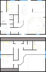 2 bedroom house plans with loft cabin magnificent open floor home