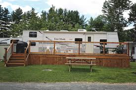 Trailer Sunrooms Blairton Trailer Park Clean Family Camping Havelock Ontario Canada