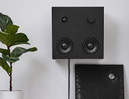 minimalist speakers ikea eneby minimalist bluetooth speakers gadget flow