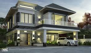 Houzd by Simple Modern House Models Home Design Ideas