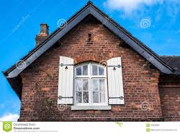victorian window shutters stock photo image 66368084