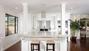 kitchen islands with columns kitchen columns kitchen cabinets remodeling net