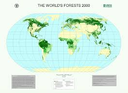 The Forest Map Fao Committee On Forestry