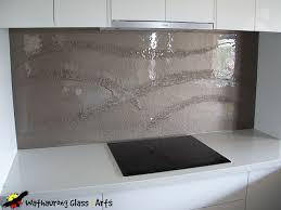 Kitchen Designs Victoria Wathaurung Glass Bronze Glass Kitchen Splashback With Dry River