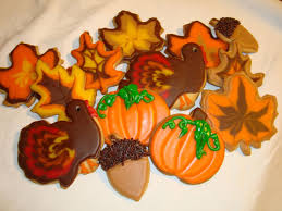 fabulous thanksgiving cookies bellissima bellissima