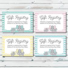 western wedding registry baby registry cards registry inserts baby shower gift