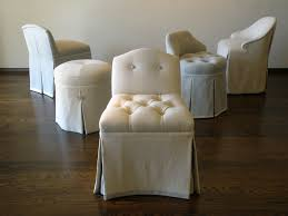bedroom leather white with tufted vanity stools for contemporary elegant vanity stools for your bedroom decor idea leather white with tufted vanity stools for