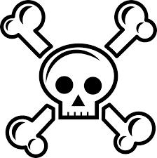 cross skull free vector graphic on pixabay
