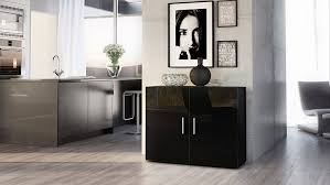 Buffet Sideboard Table by 30 Inspirations Of Black Gloss Buffet Sideboards