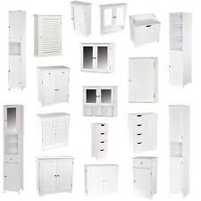 Bathroom Wall Mounted Cabinets by Bathroom Cabinets Bathroom Storage Ebay