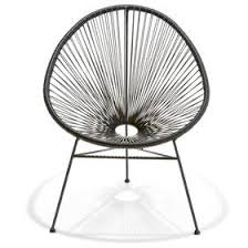 String Chair Acapulco Replica Chair Black Kmart