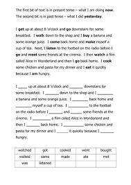 a u0027tense u0027 worksheet by dan0ish teaching resources tes