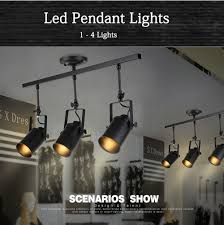 Black Track Lighting Fixtures by New Black Loft Industrial Pendant Lights Lamp Led Track Lights