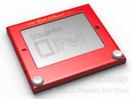 etcher u0027 turns ipad into etch a sketch real knobs and all cnet