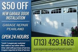 Overhead Door Hours Garage Repair Coupons Pearland Tx Overhead Door Discounts