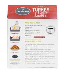 and flavor turkey brine flavor turkey herb brine kit 16 6