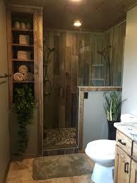 bathroom upgrades ideas rustic master bathroom upgrade wood tile shower custom bathroom