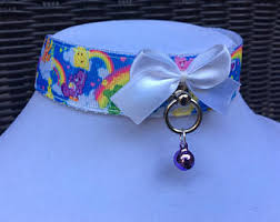 care bears choker etsy