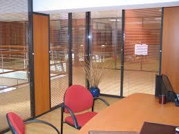 stores bureau cloisons de bureaux cloisons doubles vitrages avec stores