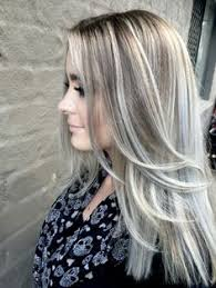 blonde hair with silver highlights best highlights to cover gray hair wow com image results