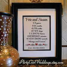 13th anniversary ideas 13th anniversary 13th anniversary gift for by flirtygirlweddings