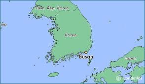 pusan on map where is busan south korea busan busan map worldatlas