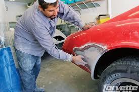 corvette fiberglass repair prep and paint guide how to repair prep and paint your