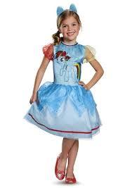 Rainbow Halloween Costume Kids Rainbow Dash Pony Girls Costume 22 99 Costume
