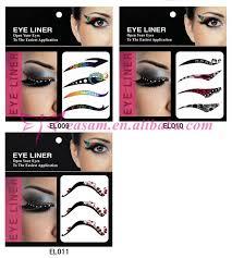 eye temporary tattoo sticker eyeliner tattoo with 11 designs
