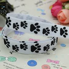 printed ribbon wholesale buy paw print ribbon and get free shipping on aliexpress