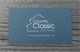 home design business business card design country classic home designs