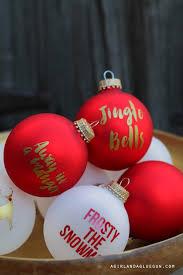 christmas ornament advent calendar a and a glue gun