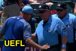 Jeff Banister Mlb Ejection 070 Joe West 1 Jeff Banister Close Call Sports