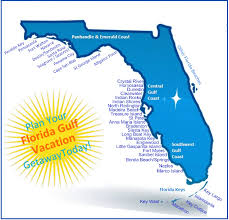 Marcos Island Florida Map Florida Gulf Vacation Vacation Rental Map
